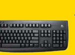 A Logitech Keyboard and Mouse