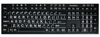 Picture of ZoomText Keyboard